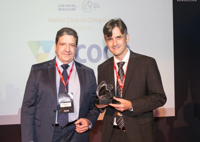 Sicoob ganha Prêmio Relatório Bancário 2018 na categoria Aplicativos