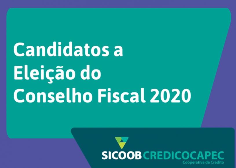 Confira os candidatos a Conselho Fiscal do Sicoob Credicocapec