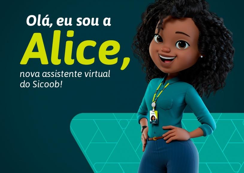 Conheça Alice, assistente virtual do Sicoob, que oferece atendimento digital humanizado