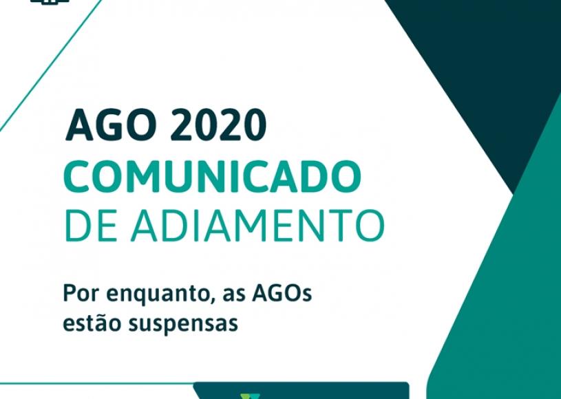 Adiamento da AGO 2020