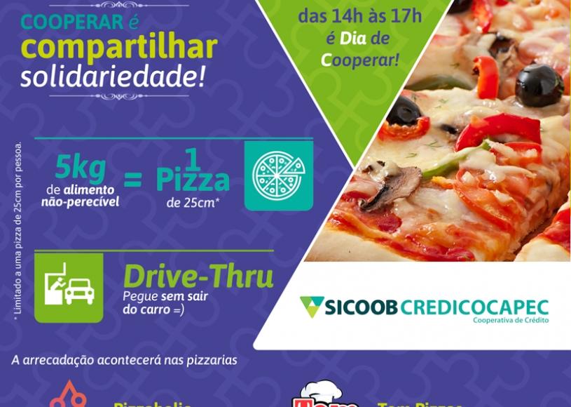 CREDICOCAPEC PROMOVE 'PIZZA STOP' NESTE SÁBADO (04)