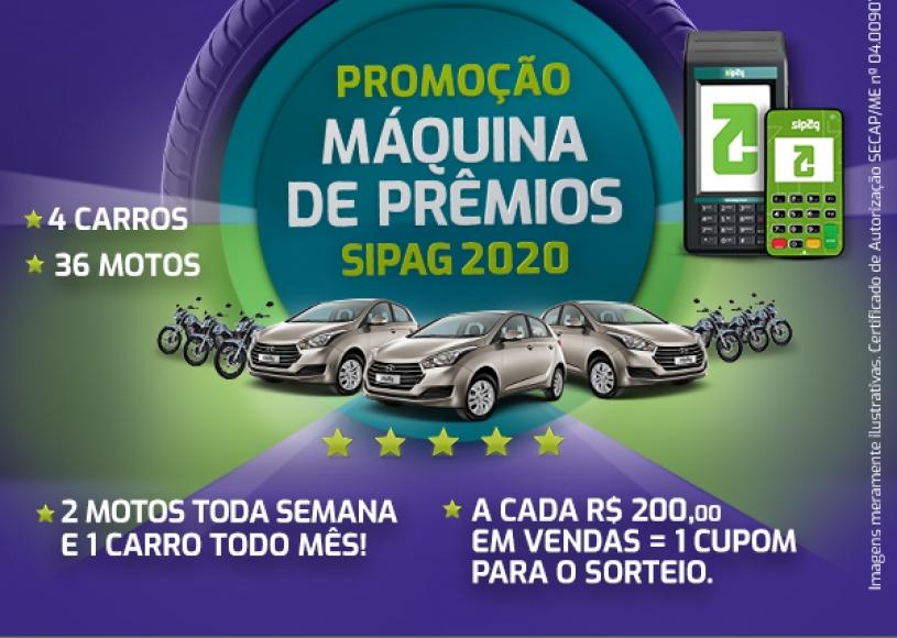 Promoção Máquina de Prêmios SIPAG 2020